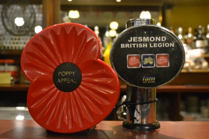 Softs drinks and hot beverages also available at Jesmond Royal British Legion Club