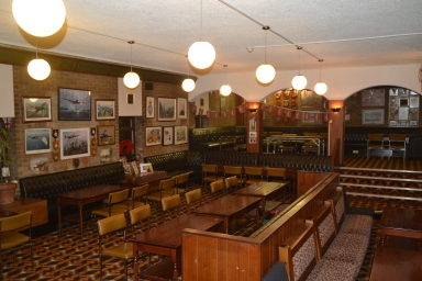 Veterans Lounge at Jesmond Legion - available for private hire for up to 80 guests