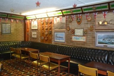 Veterans Lounge - available for private hire for up to 80 guests