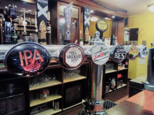 We offer a range of draught ales, lagers and ciders at great value prices!