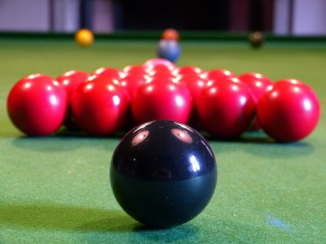 Private snooker room with full size table at Jesmond Royal British Legion Club